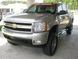 2007 Graystone Metallic Chevrolet Silverado 1500 LT Crew Cab 4x4 #47966185