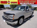 2005 Silver Birch Metallic Chevrolet Silverado 1500 LS Regular Cab #48026193
