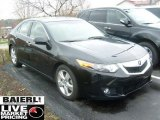 2009 Crystal Black Pearl Acura TSX Sedan #48025219