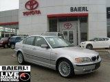 2003 Titanium Silver Metallic BMW 3 Series 330xi Sedan #48025244