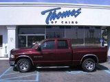 2003 Dark Garnet Red Pearl Dodge Ram 1500 SLT Quad Cab #48025985