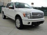 2011 White Platinum Metallic Tri-Coat Ford F150 Platinum SuperCrew 4x4 #48025733