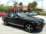2005 Black Ford Mustang V6 Premium Coupe #48025508