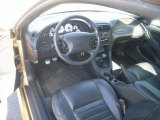2000 Ford Mustang GT Coupe Dark Charcoal Interior