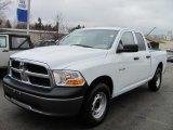 2010 Stone White Dodge Ram 1500 ST Quad Cab 4x4 #48026262
