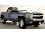 2011 Black Granite Metallic Chevrolet Silverado 1500 LT Crew Cab 4x4 #48026044