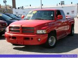1999 Flame Red Dodge Ram 1500 Sport Extended Cab #48026292