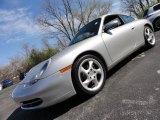 1999 Arctic Silver Metallic Porsche 911 Carrera Coupe #48025320