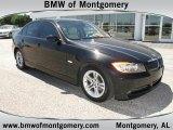 2008 Black Sapphire Metallic BMW 3 Series 328i Sedan #48025793