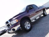 2003 Dark Garnet Red Pearl Dodge Ram 1500 SLT Quad Cab 4x4 #48025323