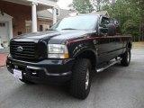 2004 Black Ford F250 Super Duty Harley Davidson Crew Cab 4x4 #48026065