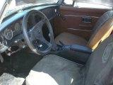 1977 MG MGB Interiors