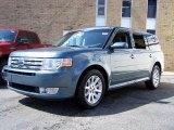 2010 Steel Blue Metallic Ford Flex SEL #48026389