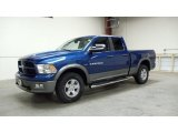 2011 Deep Water Blue Pearl Dodge Ram 1500 SLT Quad Cab 4x4 #48026397