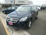 2011 Night Blue Metallic Volkswagen Tiguan S 4Motion #48025402