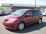 2011 Salsa Red Pearl Toyota Sienna LE #48025868