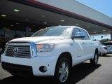 2010 Super White Toyota Tundra Limited CrewMax 4x4 #48025879