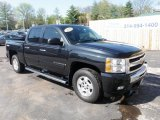 2009 Black Granite Metallic Chevrolet Silverado 1500 LT Crew Cab 4x4 #48026150