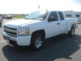 2011 Summit White Chevrolet Silverado 1500 LT Extended Cab #48025918