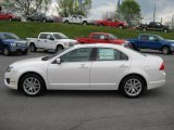 2011 White Platinum Tri-Coat Ford Fusion SEL V6 #48099470