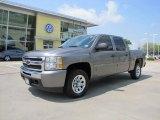 2009 Graystone Metallic Chevrolet Silverado 1500 LT Crew Cab #48099885