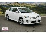 2011 Super White Toyota Corolla S #48099288