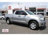 2008 Silver Sky Metallic Toyota Tundra SR5 Double Cab 4x4 #48099295