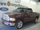 2003 Dark Garnet Red Pearl Dodge Ram 1500 SLT Regular Cab #48099704