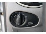 2003 Ford Focus LX Sedan Controls