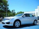2011 Ingot Silver Metallic Ford Fusion SE #48099524