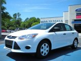 2012 Oxford White Ford Focus S Sedan #48099526