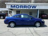 2007 Laser Blue Metallic Chevrolet Cobalt LS Coupe #48099546