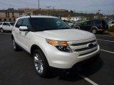 2011 White Platinum Tri-Coat Ford Explorer Limited 4WD #48099562