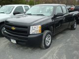 2011 Black Chevrolet Silverado 1500 Extended Cab #48099589