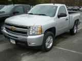 2011 Chevrolet Silverado 1500 LT Regular Cab 4x4 Front 3/4 View