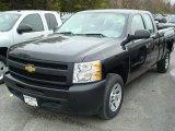 2011 Black Chevrolet Silverado 1500 Extended Cab #48099606
