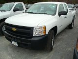2011 Summit White Chevrolet Silverado 1500 Extended Cab 4x4 #48099613