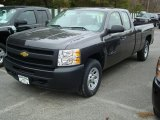 Black Granite Metallic Chevrolet Silverado 1500 in 2011