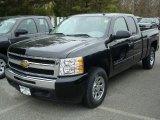 2011 Black Chevrolet Silverado 1500 LS Extended Cab 4x4 #48099615