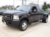 2005 Black Ford F350 Super Duty XLT SuperCab 4x4 Dually #48099620