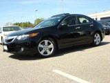 2009 Acura TSX Crystal Black Pearl