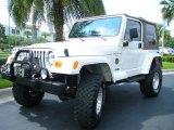 2001 Jeep Wrangler Stone White