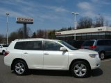 2010 Blizzard White Pearl Toyota Highlander Limited 4WD #48099756