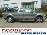 2011 Sterling Grey Metallic Ford F150 Lariat SuperCab 4x4 #48099398