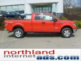 2011 Race Red Ford F150 XLT SuperCab 4x4 #48099403