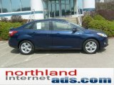 2012 Kona Blue Metallic Ford Focus SE Sport Sedan #48099404