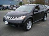 2005 Super Black Nissan Murano SE AWD #48099660