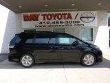 2011 Black Toyota Sienna SE #48099427