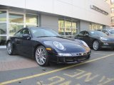 2007 Midnight Blue Metallic Porsche 911 Carrera 4S Coupe #48100009