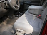 2007 Dodge Ram 3500 SLT Quad Cab 4x4 Dually Khaki Interior